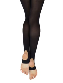 Capezio sorte essentials andefods tights til damer