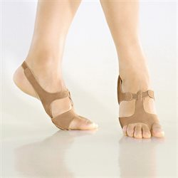 So Danca disco-show-afro sandal hudfarvet