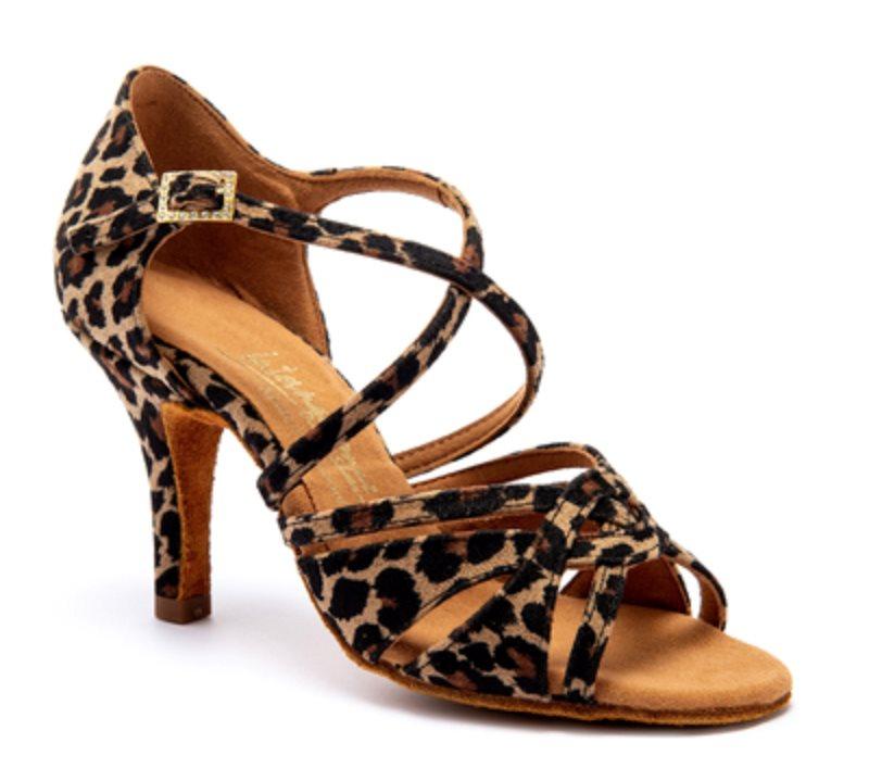 948afb86de2 Latin/salsa sko mia leopard International - Køb dansesko og dansetøj her