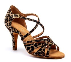 Latin/salsa sko mia leopard International