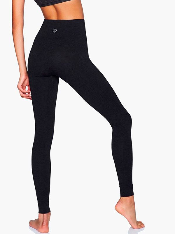 Sort seamless leggings fra Moonchild