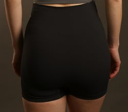 Pridance sorte seamless hotpants med support