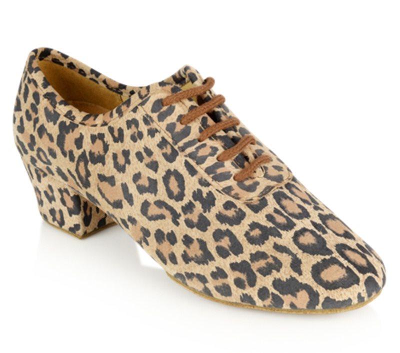 691d0c1c365 Leopard trænings dansesko Rayrose til piger og damer