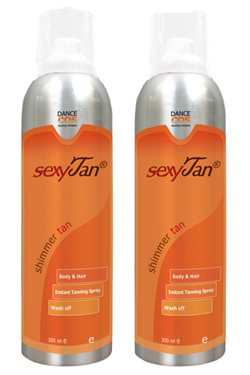 Tan spray Body Shimmer 2 x 300 ml